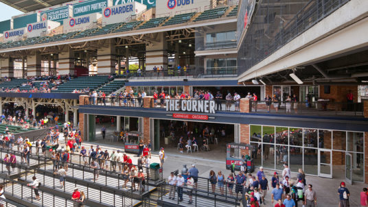 Progressive Field Fan Improvements Phase 1