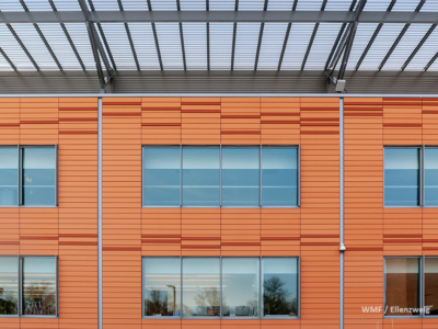 Cuyahoga Community College Stem It Terracotta Rainscreen