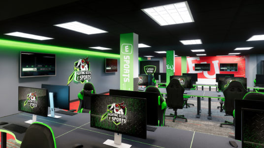 Edinboro University eSports Program Facilities
