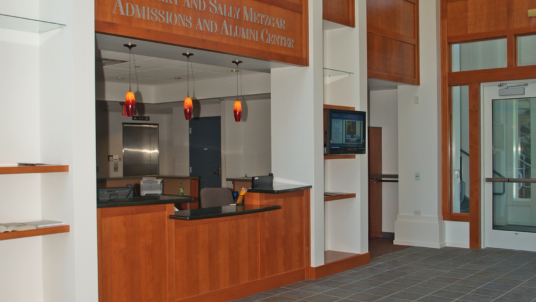 Robert and Sally Metzgar Admissions and Alumni Center