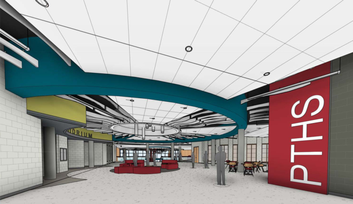 Peters Township High School Design Visualization