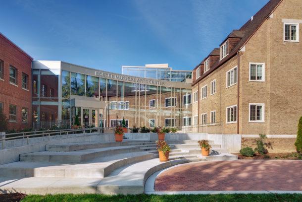 College Campus Architecture | Weber Murphy Fox